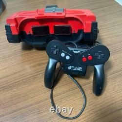 Nintendo Virtual Boy System Console Japanese Retro Game JUNK for parts Fedex