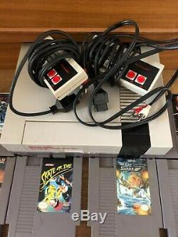 Nintendo entertainment system nes Console 25 Games Carts Working Mario NES Retro