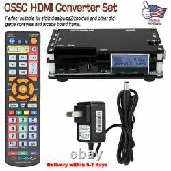 OSSC HDMI Converter Kit for Retro Game Consoles PS1 2 Xbox Sega Nintendo US