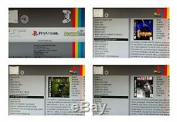 Odroid XU4 Retro Games Console- 200 or 320 GB Powerful Arcade Machine- KKSB Case