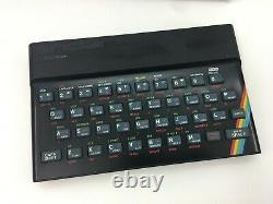 Original Sinclair ZX Spectrum 16K Computer System 80's Retro Game Console / WORK