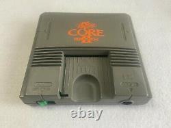 PC Engine CORE GRAFX PI-TG7 NEC Japan retro video game console FedEx