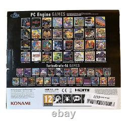 PC Engine CoreGrafx Mini Retro Console Compact Preloaded 50 Games Plug & Play