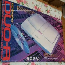 PC Engine DUO-R Console System PCE-DUOR NEC 1993 Retro Video Game Used