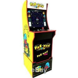 Pacman Retro Arcade 1UP Machine Arcade1UP Riser Cabinet Video Game Cab 2 Games