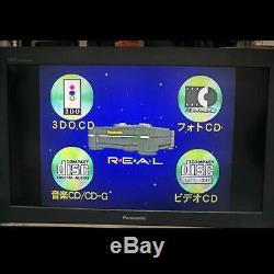 Panasonic REAL 3DO FZ-1 Video Game Console System 1993 Retro