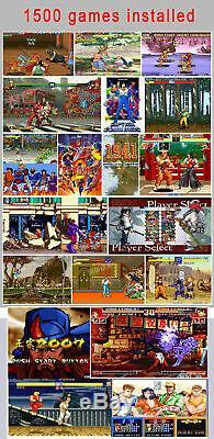 Pandora's Box 9D Retro Video Arcade Game Console for TV PC PS3 Double Sticks KOF