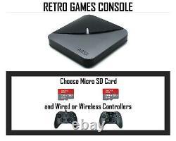 Powerful Retro Games Console PLUG N PLAY Arcade Gaming Premium Controllers