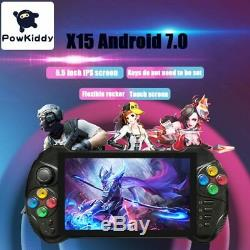 Powkiddy X15 Android RETRO Handheld Game Console 5.5 INCH 1280720 Screen