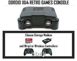 Premium ODROID XU4 Retro Games Console- PLUG N PLAY- OGST Arcade Gaming Machine
