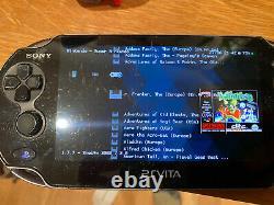 Ps Vita OLED PCH-1003 Modded + 13 Games + 100s Retro