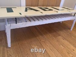 Quirky Retro Art Deco Scrabble Game Tile Coffee Or Console Table