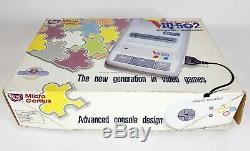RARE NEW Micro Genius Video Game IQ-502 MG-02 Retro Famicom Clone Vintage NES