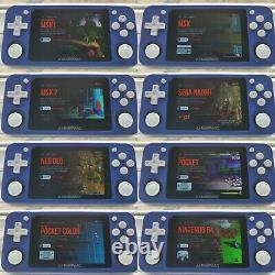 RG351P 128GB 10K Games NEW Handheld Retro Games Console / BLACK UK SELLER