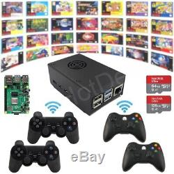Raspberry Pi 4 Model B Game Kit G4B02 Wireless Retro Game Console Plug&Play
