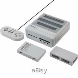 Retro Freak Retro Game Comatible Console Controller Adapter Set Super Gray