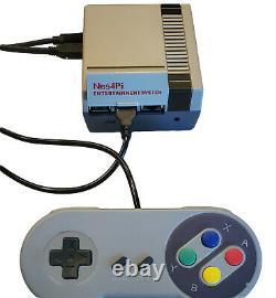 Retro Gaming Console RetroPie Raspberry Pi 4b 128gb fully loaded