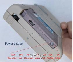 Retro Raspberry PI Gameboy Game Console Super IPS/Shock Joystick/Boy PI 3B/B+64G