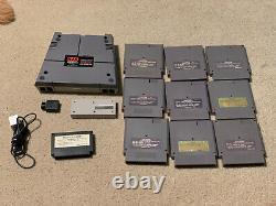 Retro USB AVS HDMI Nintendo NES Famicom Console + 8bitdo 2.4ghz + 10 Games FPGA