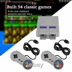 SUPER MINI FOR SNES Retro Classic Video Game Console Built-in 94 Games 16bit SFC