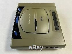 Sega Saturn HST-3200 Gray Japan retro video game console controllers FedEx