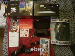 Sony Psp Grand Theft Auto Limited Edition Boxed Console. With Game, Retro
