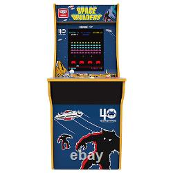 Space Invaders Arcade1Up Retro Home Arcade Cabinet Machine 4ft 2 Games IN 1 New
