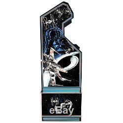 Star Wars Arcade 1UP Cabinet Machine Retro Arcade Game 1UP Riser Flight Yoke NEW