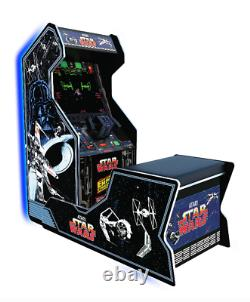 Star Wars Retro Arcade Game Cushioned Chair Seat with Home Cabinet Games Machine