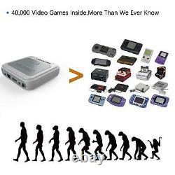 Super Console X Retro Mini 4K HDMI WiFi TV Video Game Console 256GB 50000+ Games