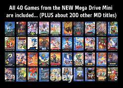 Super Nintendo SNES Classic Mini Bundle Retro Games & Extras