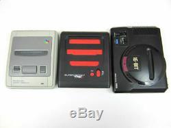 Super Retro Trio NEW PAL Nintendo NES SNES Megadrive Switch to a 3 Game Console