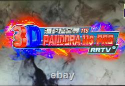 UK SELLER 3399 Games Pandora's Box 11s Retro 3D HD USB Video Arcade Console 6 9s
