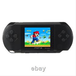 US STOCK PXP3 Black Game Console Handheld Portable 16 Bit Retro Video Games Gift