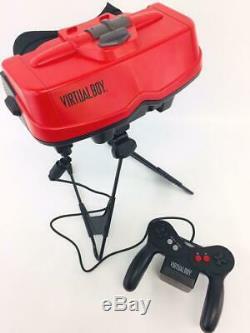 Used Nintendo Virtual Boy System Console Japanese Version 1995 Retro Game EMS