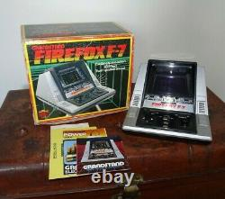 Vintage Retro Video Game Grandstand Firefox F-7 (Handheld Battery Operated 3D)