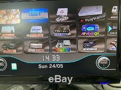 White Nintendo Wii Bundle 200+ Games See Desc GameCube N64 NES Retro Emulation