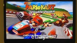 (2) Black Nintendo Wii Bundle 200+ Jeux Voir Desc Gamecube N64 Nes Retro