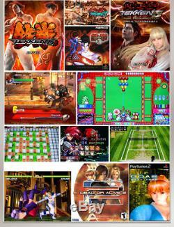 2 Dissociables Bâton Jeux 1388 Boîte De Pandore 6s Arcade Console Rétro Jeux Vidéo