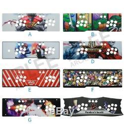 2020 Pandoras Jeux 3d 135 Jeux Vidéo Machine 2448 Retro Arcade Console De Jeux