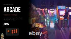2021 Rétro Arcade Console De Jeu Raspberry Pi 4 256gb Lire La Description 7500+