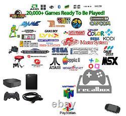 2021 Retro Arcade Gaming Console Better Than Raspberry Pi 4 1000 Go +10 000