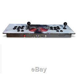 2350 Pandora Jeux Treasure Box 3d + Arcade Console Accueil Machine Retro Hdmi