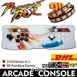 2448 Dans 1 Boîte De Pandore Arcade Console Retro Jeux Vidéo Version Double Memory Stick Nj