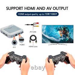 256 Go Super Console X Retro Mini Wifi 4k Hdmi Tv Console De Jeu Vidéo Ps1/n64/dc