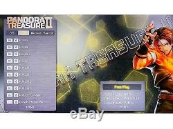 2650 Jeux Pandora Trésor II Bâton Double 3d Retro Arcade Game Console De La Machine