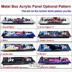 3160 Jeux Avec 60 3d Pandora Box 9s Retro Arcade Console Machine Sticks Double