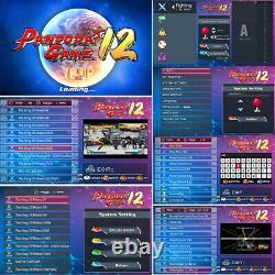 3400 Dans 1 Pandora-s Games Retro Arcade Classic Video Gaming Console Vga Pour Pc