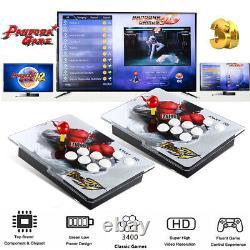 3400 Dans 1 Pandora-s Games Retro Split Console De Jeu Vidéo Hdmi Vga Pour Pc Desktop