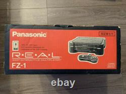 3do Real Fz-1 Console System Panasonic Retro Jeu Boxed Controller Manuel Japon